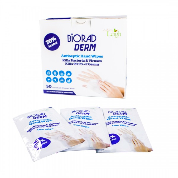 Natural Leigh Hand Sanitizing Wipes